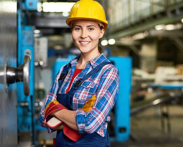 Female Industrial engineer working her Industrial Engineering Jobs