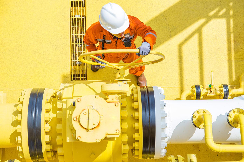 Industrial Engineer at work