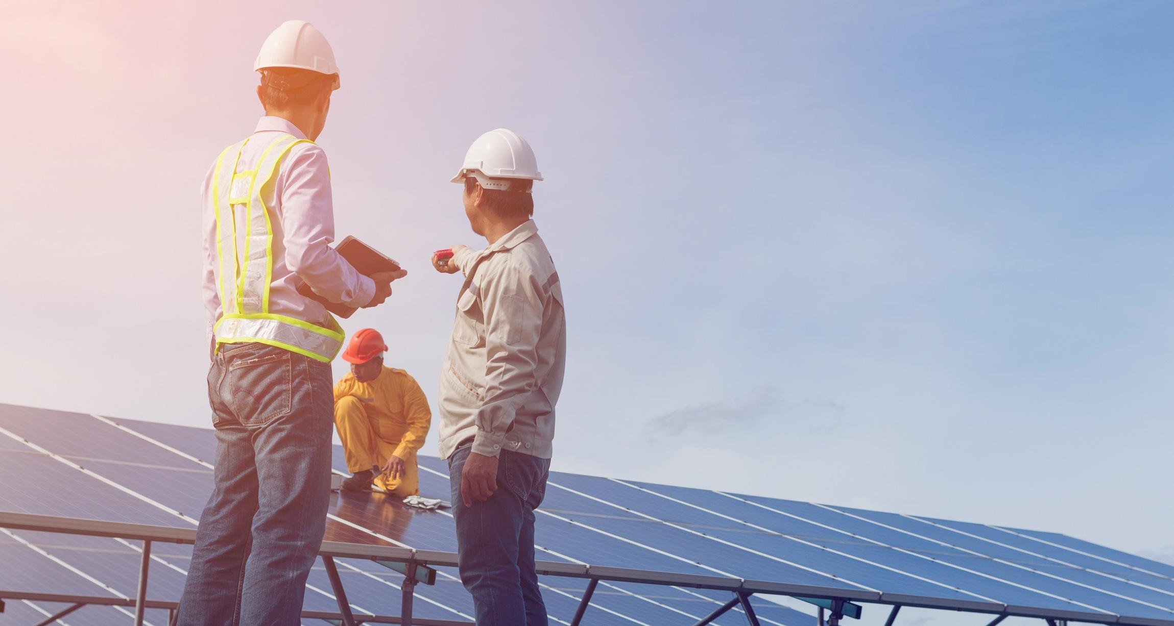 Industrial engineering jobs working on renewable energy solar